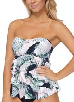 Costa Rica Tiered Tankini Top, Created for Macy's Women's Swimsuit