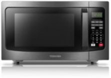 ML2-EM31PAEBS Black Stainless Steel Microwave with Smart Sensor