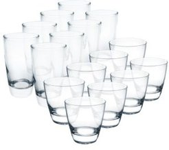 Elite 16-Pc. Glassware Set