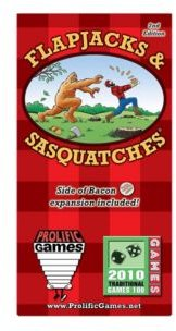 Flapjacks Sasquatches Boxed Card Game