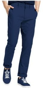 Slim Fit Flat Front Chino