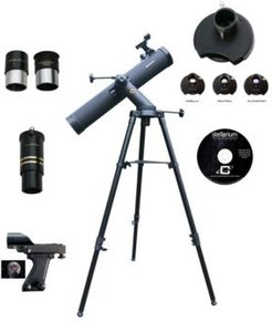 1100mm x 102mm Astronomical Tracker Mount Telescope Kit with Color Filter Wheel
