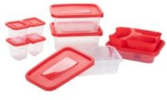 Meal Prep 18-Pc. Food Storage Plastic Containers