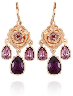 Fashionable Florals Statement Earring