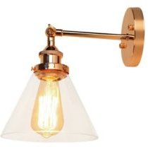 """Kanyis 10"""" 1-Light Indoor Wall Sconce with Light Kit"""