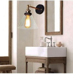 """Michonne 12"""" 1-Light Indoor Wall Sconce with Light Kit"""