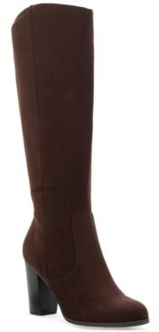Addyy Wide-Calf Dress Boots, Created for Macy's Women's Shoes