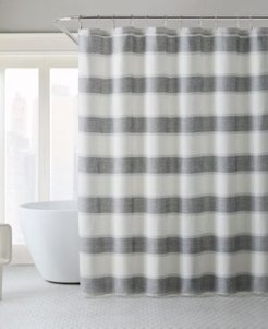 Parrot Cay Stripe Shower Curtain Bedding