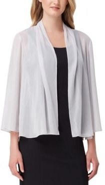 Sheer Open-Front Cover-Up Wrap