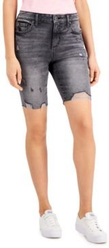 Destructed Bermuda Shorts, Created for Macy's