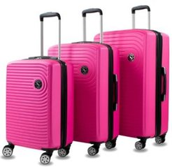 Spiral 3-Piece Expandable Spinner Luggage Set