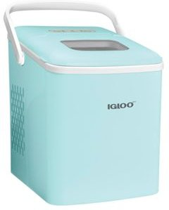 26-Pound Automatic Self-Cleaning Portable Countertop Ice Maker Machine With Handle