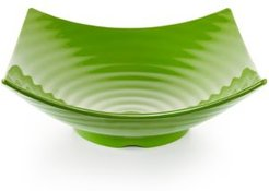 Zen Melamine Green Serving Bowl