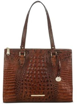 Anywhere Tote Melbourne Embossed Leather Tote