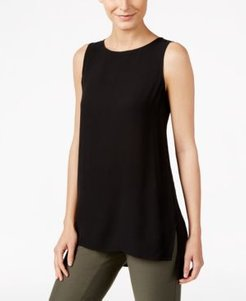 System Silk High-Low Tunic, Regular & Petite