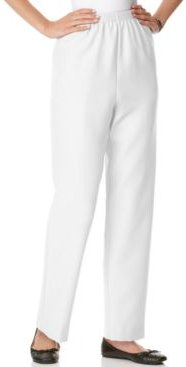 Classics Pull-On Straight-Leg Pants in Petite and Petite Short