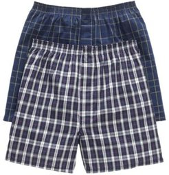 Big & Tall Classic Boxers 2-Pack