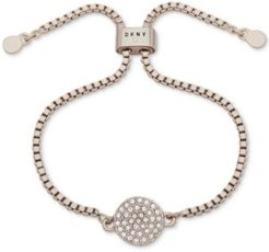 Pave Disc Slider Bracelet, Created for Macy's