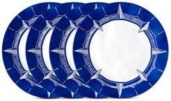 "Portsmouth 4-Pc. Melamine 10.5"" Dinner Plate Set"