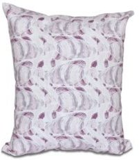 Fishwich 16 Inch Purple Decorative Coastal Throw Pillow