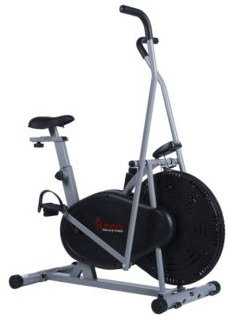 Sf-B2618 Air Resistance Hybrid Upright Exercise Bike w/ Arm Exercisers
