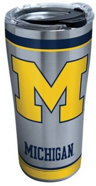 Michigan Wolverines 20oz Tradition Stainless Steel Tumbler