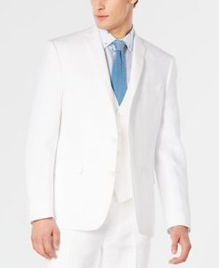 Slim-Fit White Suit Jacket, Created for Macy's