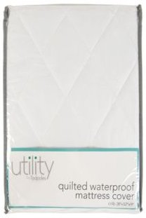 Tadpoles Quilted Waterproof Mattress Cover Crib Bedding