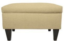 Brooklyn Square Upholstered Storage Ottoman