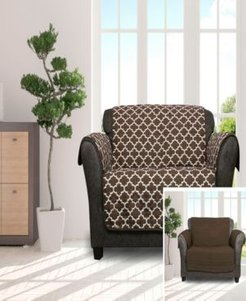 """Coby 92"""" x 75"""" Reversible Water Resistant Loveseat Cover"""