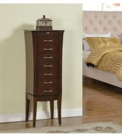 7 Drawer Jewelry Armoire,