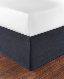 Denim Tailored Bed skirt, Full Bedding