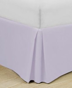"""Home Basic Easy Fit Microfiber Pleated 14"""" Drop Full Bedskirt Bedding"""