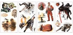 Star Wars The Force Awakens Ep Vii Ensemble Cast P & S Wall Decals