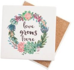 Love Grows Here Coaster