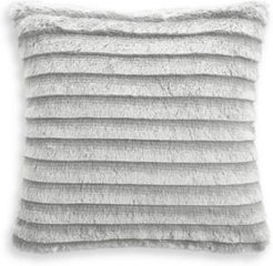 """Closeout! Whim by Martha Stewart Collection Faux Fur Fringe 18""""x18"""" Decorative Pillow, Created for Macy's Bedding"""