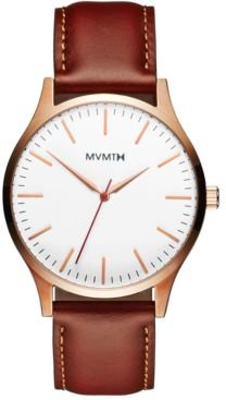 The 40 Tan Leather Strap Watch 40mm