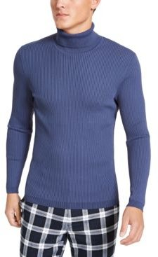 Inc Onyx Men's Ribbed Turtleneck Sweater, Created for Macy's
