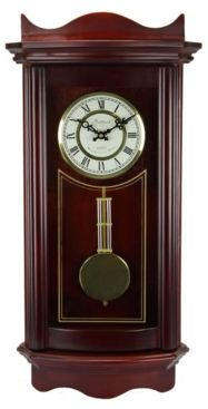 """Clock Collection 25"""" Wall Clock with Pendulum"""