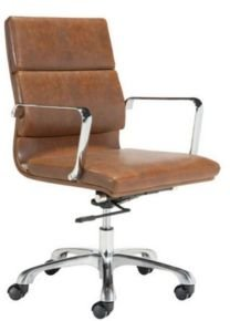 Soft Pad Office Chair, Mid Back