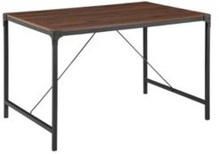 Industrial Wood Dining Table