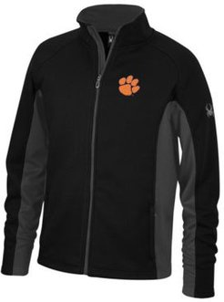 Spyder Men's Clemson Tigers Constant Full-Zip Sweater Jacket