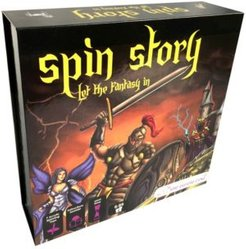Spin Story Magical Fantasy Storytelling Game