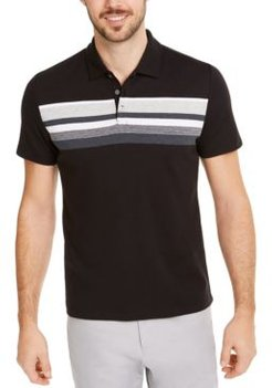 Honeycomb Striped Polo Shirt, Created for Macy's