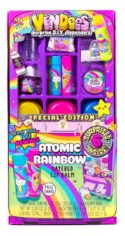 Atomic Rainbow Layered Lip Balm