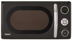 0.7 CuFt 700W Retro Microwave with Pull Handle