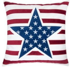 Sienna Independence Day Square Decorative Throw Pillow