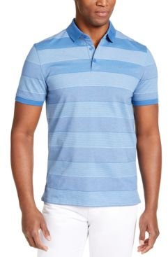 Liquid Touch Bar Stripe Polo Shirt