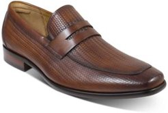 Angelo Woven Penny Loafers Men's Shoes