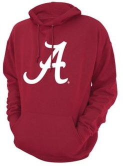 Alabama Crimson Tide Screenprint Big Logo Hooded Sweatshirt